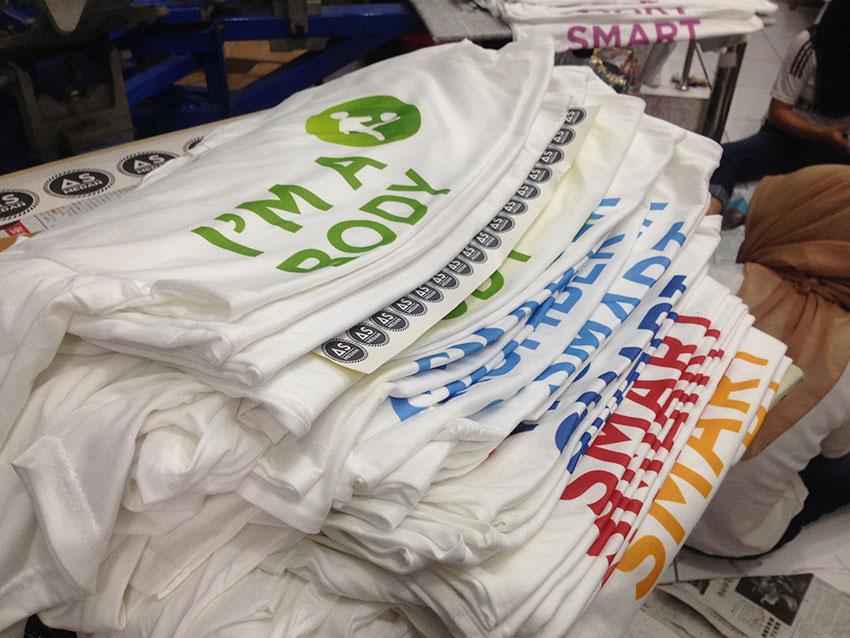 Printing kaos DTG