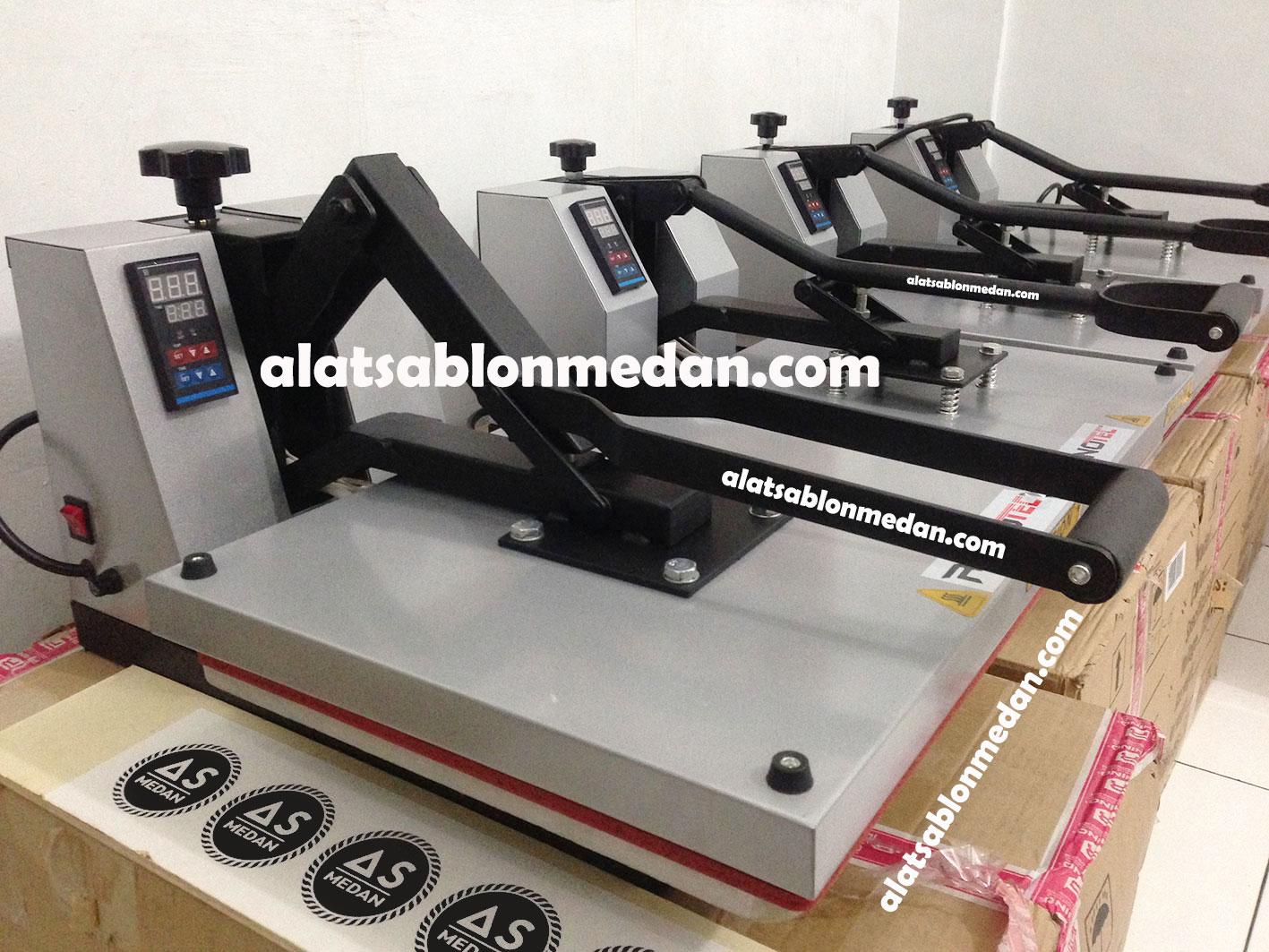 Alat sablon digital mesin press kaos